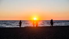 IMG_7010 (Nicola since 1972) Tags: aperitivo beach fregene gong sand singita spiaggia sun sunset lazio italy it