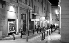 Walking Down the Streets at Night (intagliodragon) Tags: aixenprovence provencealpesctedazur france fra