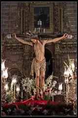 Cristo (Ral Mena) Tags: 50mm 500d eos500d e laparra badajoz extremadura cristodelaparra cristodelamisericordia nocturna nocturnal
