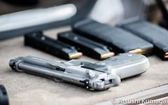 Beretta 92FS Brigadier Inox (kumagai.atsushi) Tags: beretta 92fs brigadier inox stainless gun pistol weapon 9mm bokeh parabellum