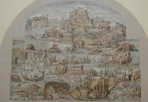 Mosaico del Nilo - Museo di Palestrina