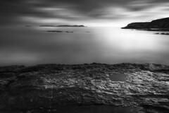 Ocano Atlantico (jojesari) Tags: 1116 oceanoatlantico oceano atlantico mar marina ocaso sunset puestadesol solpor blancoynegro blackandwhite bn jojesari suso