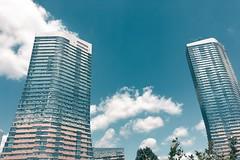 Varyap Meridian (unluonur) Tags: architecture building skyscraper tall contemporary bluesky blue sky clouds istanbul ataehir meridian