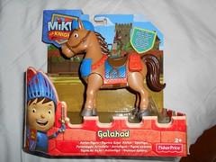 Galahad from Mike the Knight (ItalianToys) Tags: mike knight figure action il cavaliere horse galahad cavallo toy toys giocattolo giocattoli