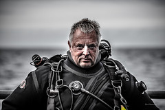 The Old Man and the Sea 2016 (garrelf) Tags: 2016 cmas expedition jutland nordsee topside unesco skagerrak portrait meer northsea scuba taucher wracktaucher trimix