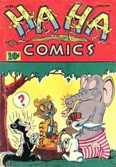 Ha Ha 25 (Michael Vance1) Tags: comics comicbooks cartoonist art artist anthology funnyanimals fantasy funny humor goldenage