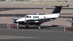 Beech F90 King Air N686JH (ChrisK48) Tags: 1981 90 aircraft airplane beechf90 beechcraft dvt kdvt kingair n686jh phoenixaz phoenixdeervalleyairport