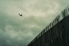 plane (InSoManyWords) Tags: film 35mm fujisuperia200 fujifilm rollei35 nantes airplane