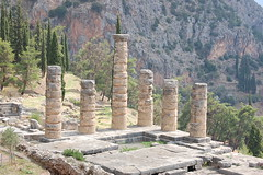 The Temple of Apollo at Delphi (gilmorem76) Tags: greece travel tourism delphi delfi apollo oracle architecture ancient greek