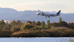 Aerolineas Argentinas  / Airbus A340-313 / LV-FPV (vic_206) Tags: aerolineasargentinas airbusa340313 lvfpv bcn lebl agua water ducks patos deltadelllobregat skyteamlibery