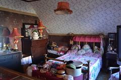 Ketchikan, Alaska - Creek Street - Dolly's House - Bedroom (jrozwado) Tags: northamerica usa alaska ketchikan kichxan creekstreet bed bedroom house houseofillrepute brothel dollyshouse museum