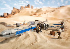 Resistance X-wing Fighter (Alexander I. Gusev) Tags: bb8 starwars lego legostarwars resistance xwing fighter
