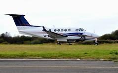 M-WATJ (goweravig) Tags: mwatj swanseaairport beech b200 kingair swansea wales uk visiting aircraft