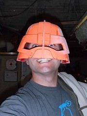 Initial Test Fit (thorssoli) Tags: fallout fallout4 fallout3 powerarmor t45 helmet prop replica 3dprinting zortrax m200 lilygreen daniellilygreen myminifactory