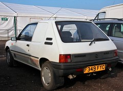 F349 FYC (3) (Nivek.Old.Gold) Tags: 1989 peugeot 205 xrad van 1769cc colourmatch