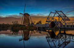 Dutch Sunset (Explored 21-10-2016) (mcalma68) Tags: landscape dutch sunset water windmill reflections s kinderdijk