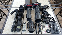 My Toys. (Inmortal Photography) Tags: canon7d canon5dmiii sigma150600 sigma70200 sonya7 sonya7ii sony1635 sony35