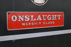 "D832 ""ONSLAUGHT"" (colin9007) Tags: east lancashire railway diesel gala wr hydraulic maybach"