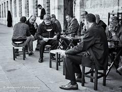 Street 197 (`ARroWCoLT) Tags: bnw bnwstreet people streetart skdar istanbul trkiye trkei turkey street sokak samsung photography outdoor siyahbeyaz art bw blackwhite monochrome blackandwhite arrowcolt nx300 man sleeping 30mm f2 sidewalk baker streetcafe cafe tea ishootpeople table tabure stool