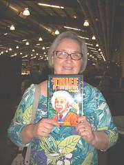 New friend (Michael Vance1) Tags: woman reader fan book novel sf sciencefiction antique
