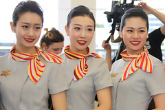 Stewardesses Hainan Airlines (totoro - David D.) Tags: stewardesses hainan airlines stewardesseshainanairlines hainanairlines htessedelair htessesdelair htesses femme femmes fille filles woman women girl girls uniform uniforms uniforme uniformes cabine cabin spotting stewardess sourire sourires smile smiles flightattendants people portrait personne person persons personnes hostess airhostess airline airlineuniforms jolie belle jolies belles crew airlinescrew quipage