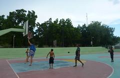 Playing basketball with the locals in Pedernales (little_duckie) Tags: bahiadelasaguilas pedernales dominicanrepublic republicadominicana caribbean beach laplaya