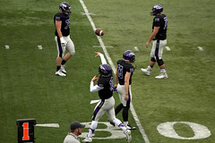 UW-Whitewater Football Pass (BenG94) Tags: uwwhitewater uwwhitewaterfootball football college whitewater wisconsin canon canon60d 60d morningside pass