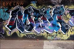 Wotda (Alex Ellison) Tags: wotda dfn eastlondon urban graffiti graff boobs