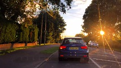 Commuting Home (Marc Sayce) Tags: commuting home sunset audi a1 tfsi sundown a31 four marks hampshire