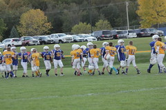 1462 (bubbaonthenet) Tags: 09292016 game stma community 4th grade youth football team 2 5 education tackle 4 blue vs 3 gold