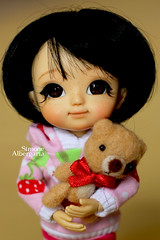 Pucca (Passion for Blythe) Tags: muichan pucca teddy bear
