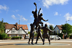 Core Values (John A King) Tags: core values sculpture by gerald laing seen outside twickenham stadium