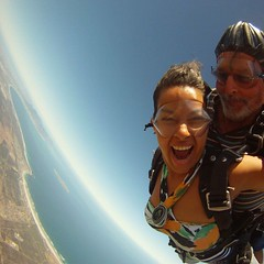 "Skydiving in Cape Town... ca. 3000 meters (9000 ft) over sea level and 200kms/h speed. Nov 2014. South Africa #itravelanddance • <a style=""font-size:0.8em;"" href=""http://www.flickr.com/photos/147943715@N05/30045537792/"" target=""_blank"">View on Flickr</a>"