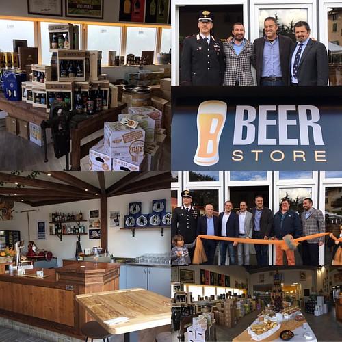 #horecabevande inaugurazione #beerstore con Mauro Versini #gardatrentino