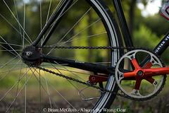 10 years on, it still has a long way to go (Brian McGloin) Tags: mercier austin bicycle fixedgear singlespeed trackbike wald wirebasket