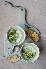 cucumber, avocado and dill chilled soup (magshendey) Tags: foodphoto foodstyling soup cold avocado chilled green