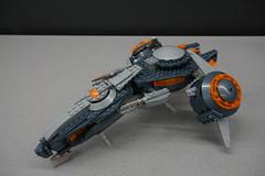 DSC06817 (starstreak007) Tags: megabloks halo phaeton gunship