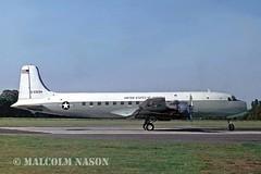 DOUGLAS VC118A 53-3294 USAF (shanairpic) Tags: military dc6 c118 douglasc118 northolt usaf 033294 533294