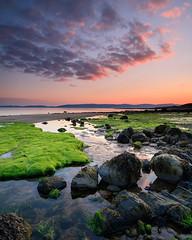 Nothing Can Bring Back The Hour (johnkaysleftleg) Tags: drumadoonbay arran isleofarran sunset rockyforeshore still scotland canon760d sigma1020mmf456exdchsm ndhardgrad12