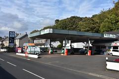 C.B. Fuels Cushendun County Antrim. (EYBusman) Tags: cb fuels petrol gas gasoline filling service station garage cushendun county antrim northern ireland texaco eybusman