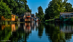 Gstrow, Germany (carbonemarcomc) Tags: colori color germany pictureoftheday water travel europa summer reflection riflessi case houses viaggi