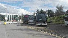LC2 line up. (Woolfie Hills) Tags: lc2 visiting coaches