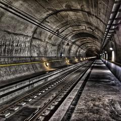 Gotthardbasistunnel / Handyfoto / HDR 1x1 (swissgoldeneagle) Tags: switzerland 1x1 indoor tunnel gottardino gotthardbasistunnel gotthardbasetunnel basetunnel 950 sedrun graubnden hdr grisons graubuenden 950xl gbt graubnden tujetsch schweiz ch