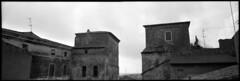 Terracina, Italy. (tonywright617) Tags: oldtowngate terracina lazio italy fujica g617 panoramic mediumformat 120 ilford iso400 film analogue fullframe