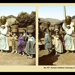 JUST ANOTHER DAY FOR WORKING-CLASS CHILDREN in OLD KOREA -- 1908 thumbnail