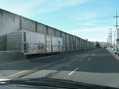 Carroll Ave San Francisco 11/6/06 PB060180 (jsmatlak) Tags: san francisco california muni rail train freight track branch industry carroll