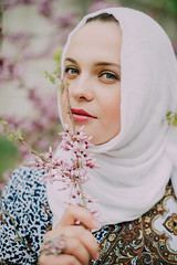 *** (olya.kuznets) Tags: photoshoot womanportrait image nikon d600 50mm naturallight girl crimea color beauty spring outdoor stylelife inspiration hijab islam nikkor