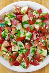 Cilantro Lime Potato Salad (JuliasAlbum.com) Tags: potatoes cilantro lime salad dinner appetizer thanksgiving holidays