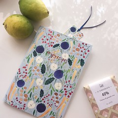 """A5 illustrated notebook """"my recipes"""" (mhasegawa165) Tags: cookingnotebook recipes recipenotebook notebook watercolour botanical illustration vegetable"""