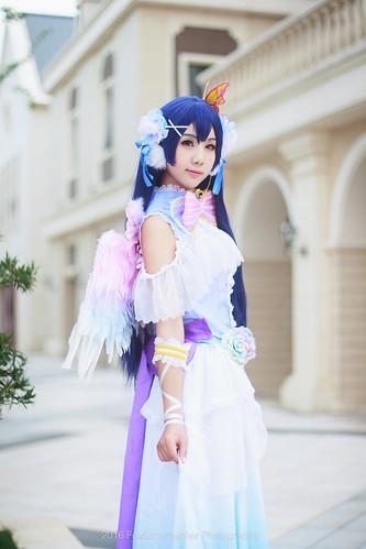 园田海未  白色情人节觉醒 cosplay